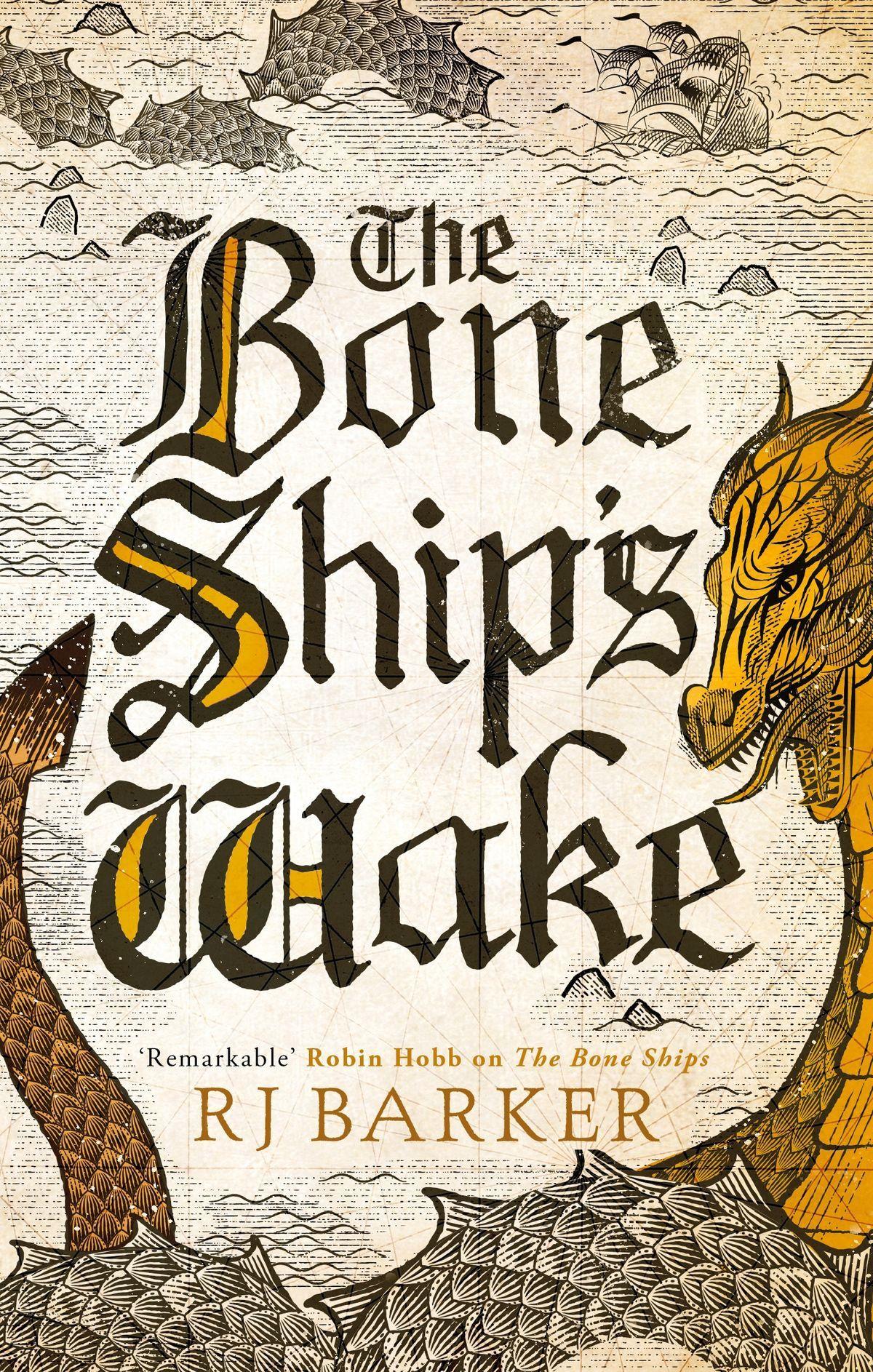 RJ Barker - The Bone Ship's Wake - Cover