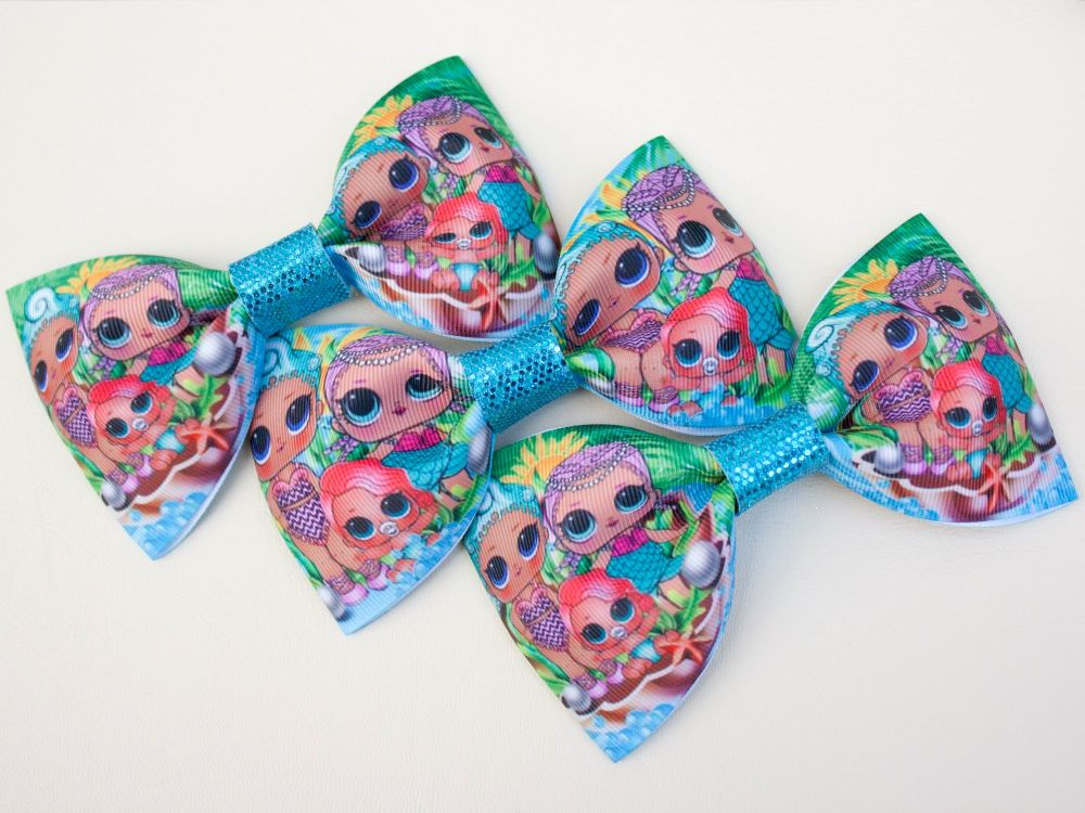 Mermaids LOL Inspired Bow