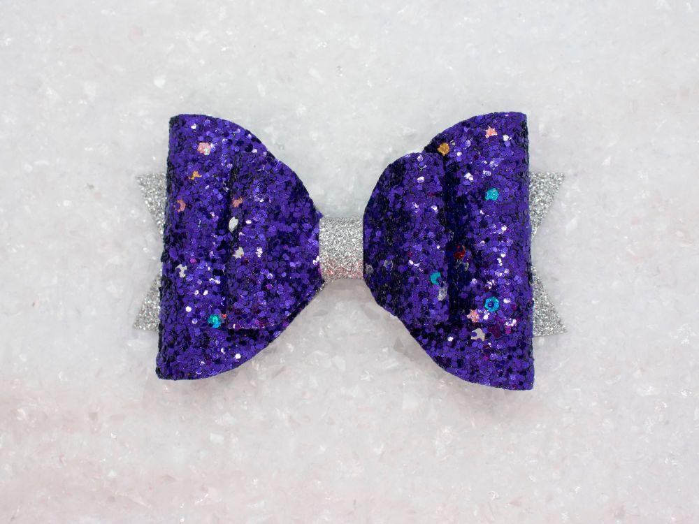 Purple Glitter Sparkles