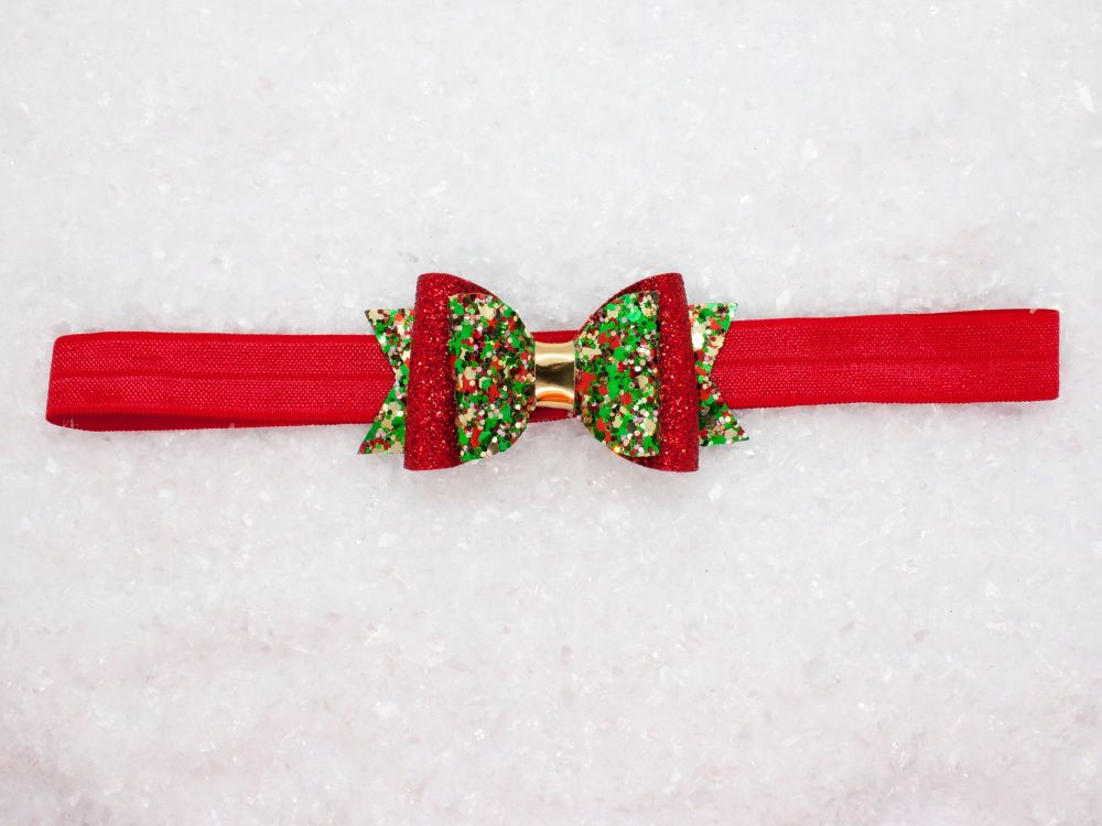 Christmas Cracker! Baby Bow
