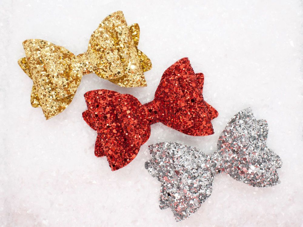 All Glitter – Choose Ruby Slipper, Silver Sparkle or Golden Glitter