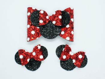 Minnie Inspired Polka Dots – Set or Separate