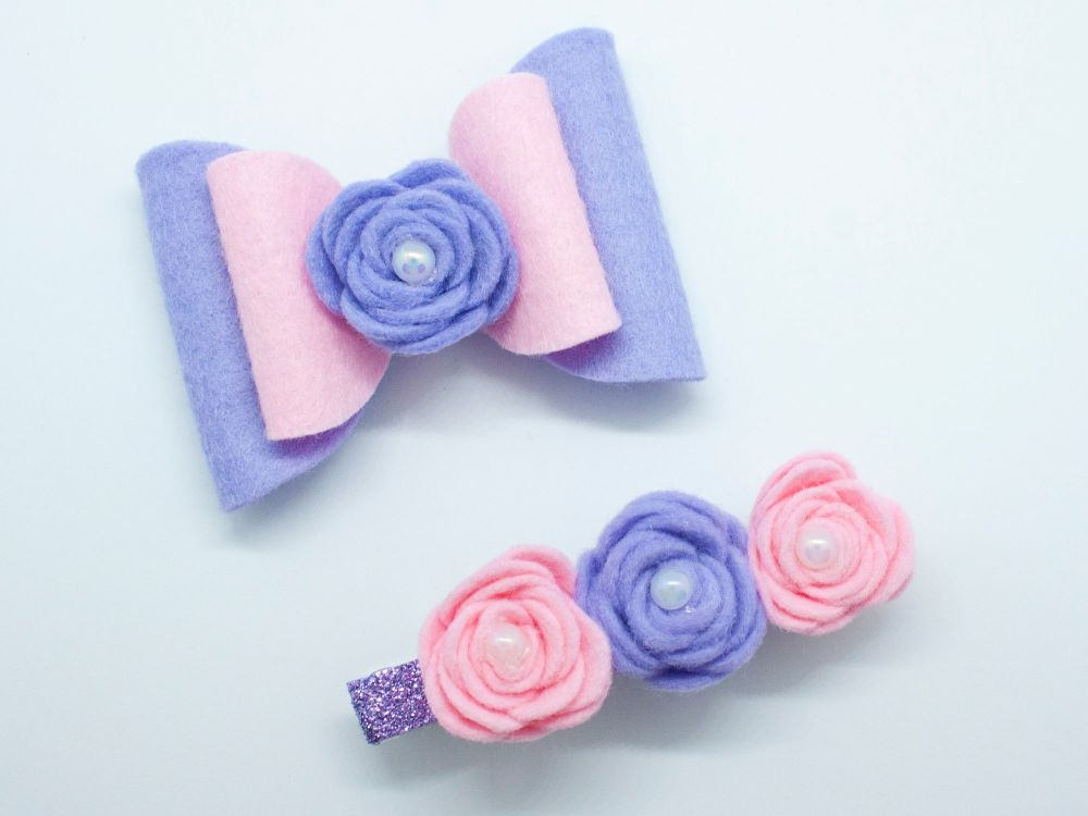 Fabulous Felt Set – Lilac & Pink – Tenner Thursday