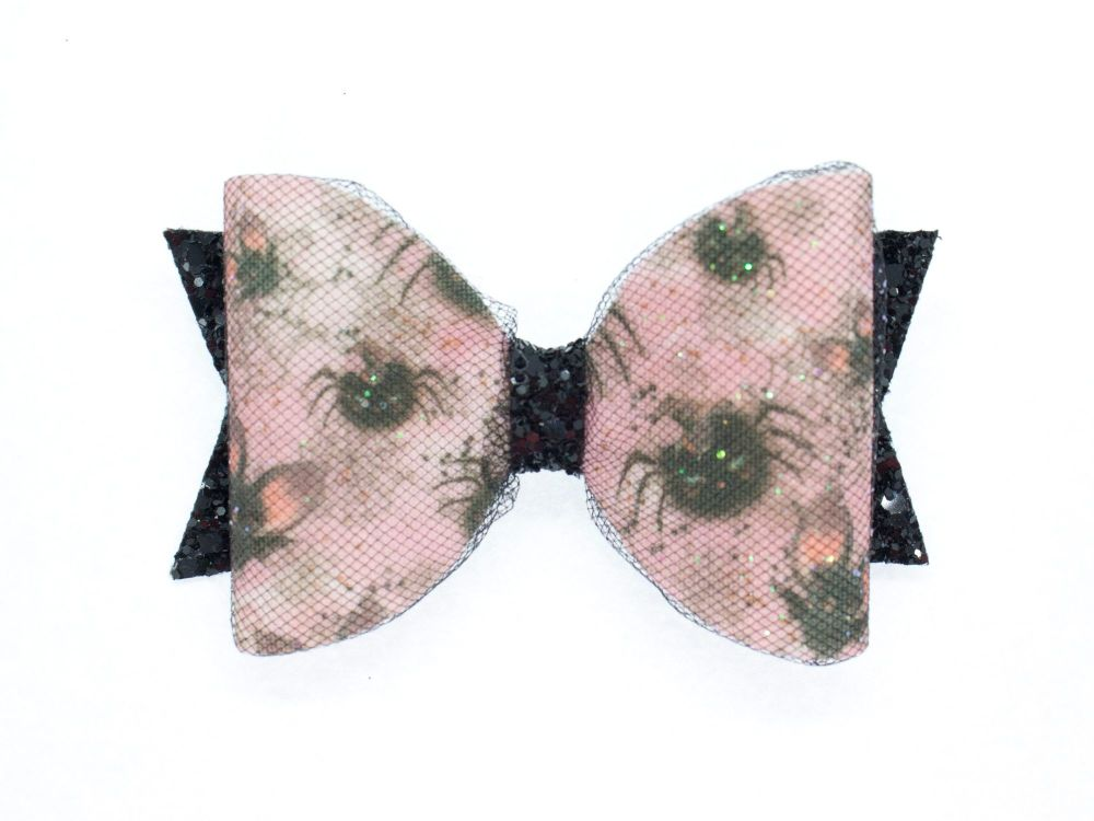 Cute Creatures Halloween Bow
