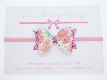 As You Wish Upon A Star Bow Headband