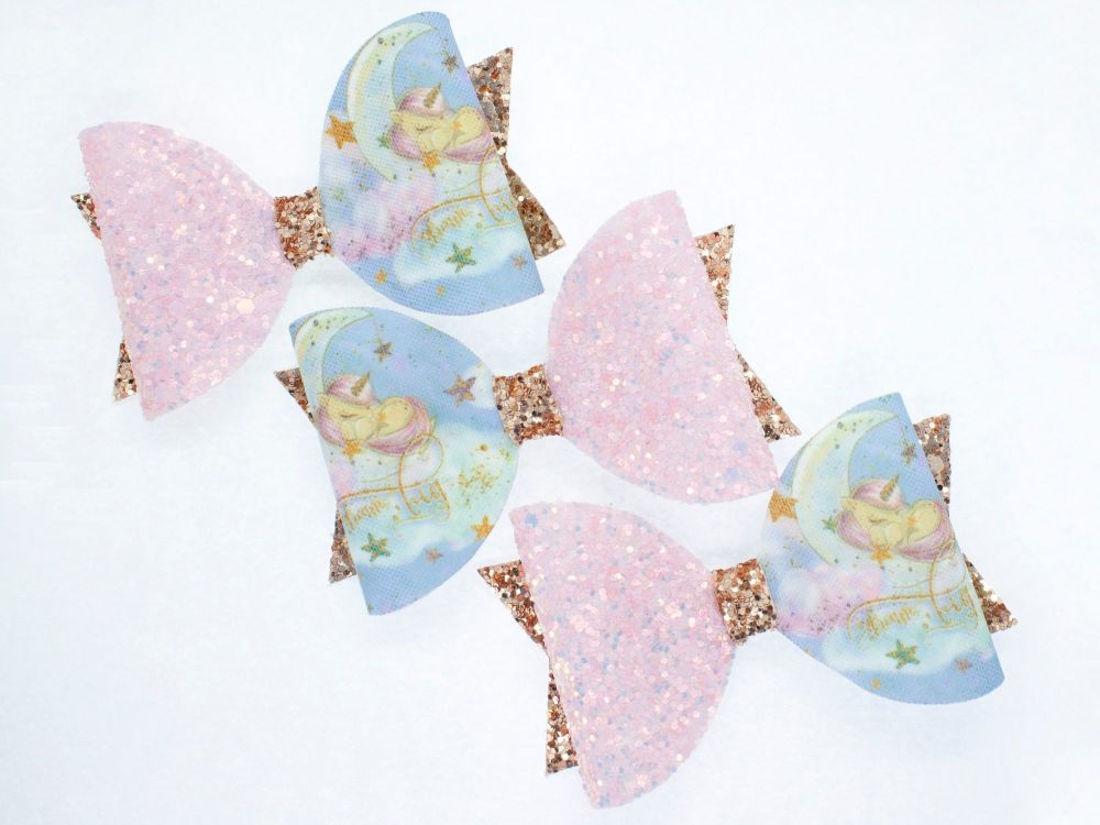 Dream Big Little One Unicorn Bow