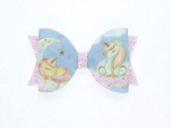 Dream Big Little One Unicorn Small Bow