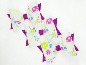 Enchanted Forest Theme Bow