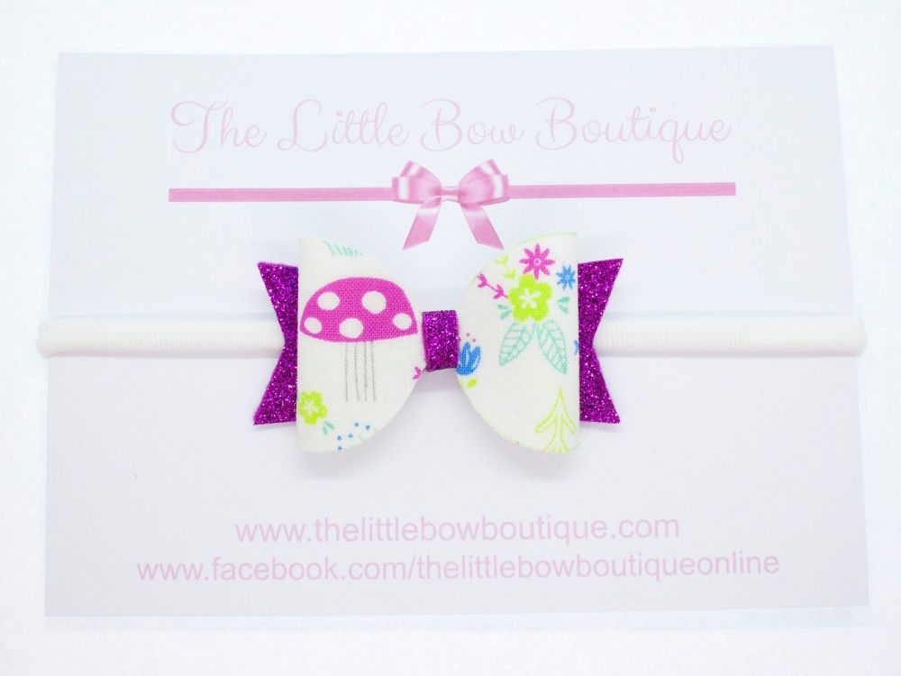 Enchanted Forest Theme Small Bow