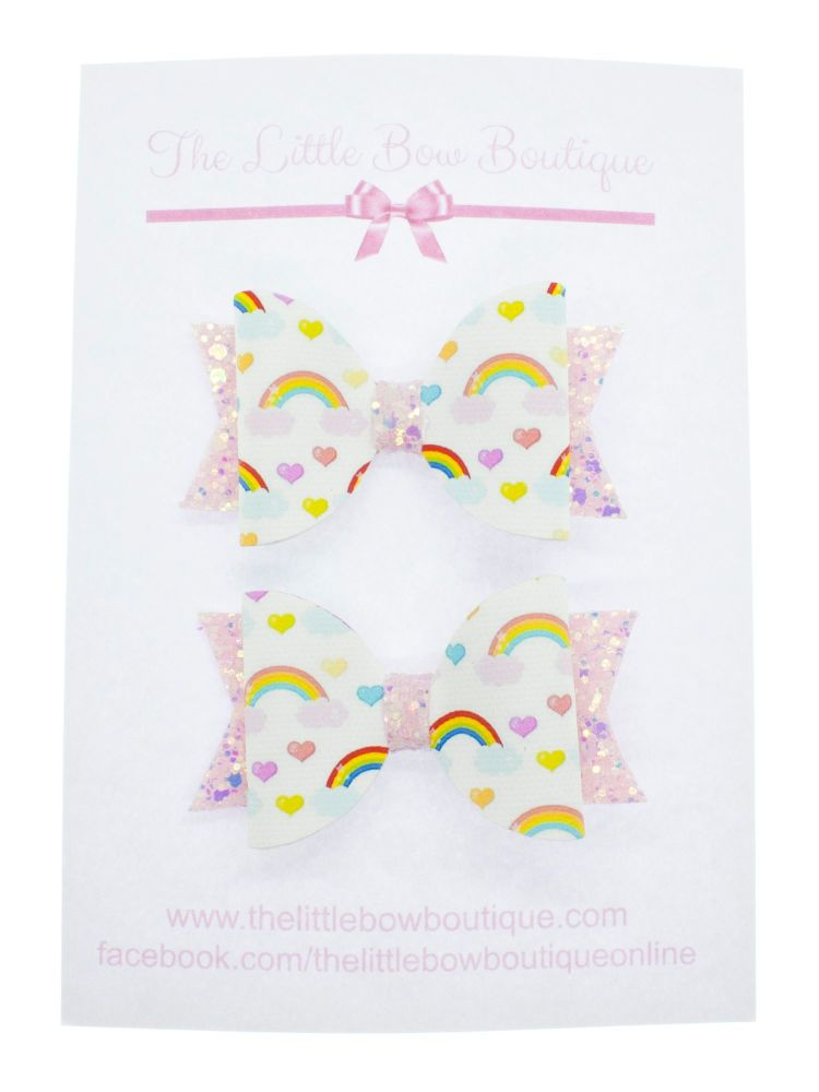 In Love with Rainbows – Small Bows