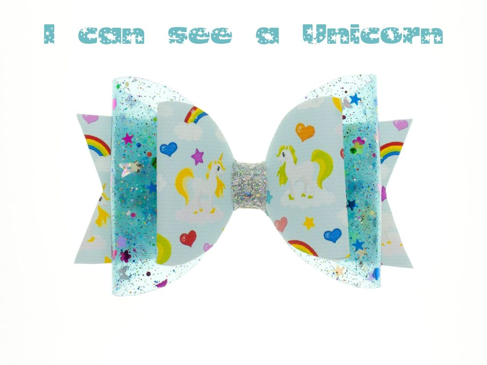 I can see a Unicorn – Standard Size Bow