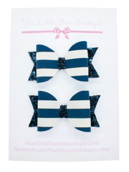 Nautical Navy – Small Bows