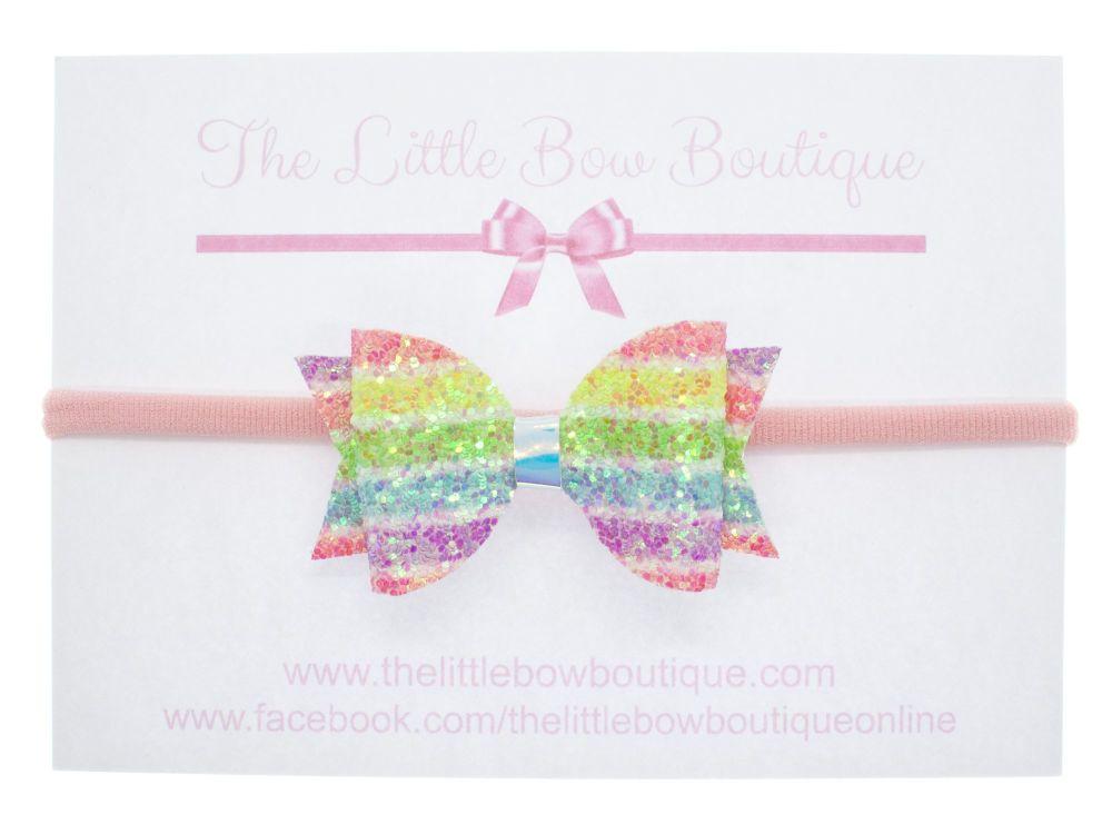 Pastel Princess - Headband Small Bow