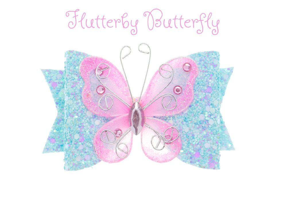 Flutterby Butterfly – Standard Size Bow