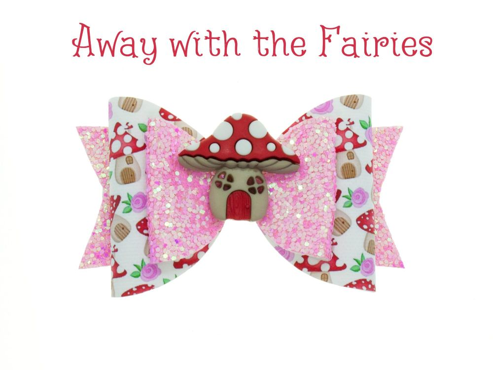 Away with the Fairies – Standard Size Bow