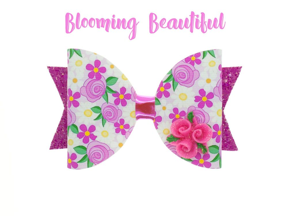 Blooming Beautiful – Standard Size Bow