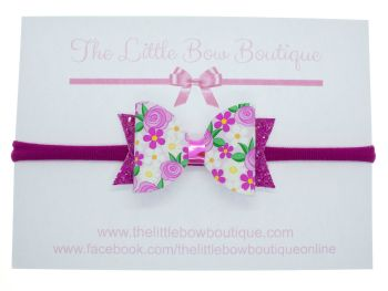 Blooming Beautiful - Headband Small Bow