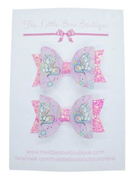 Pretty Little Unicorn - Small Bows