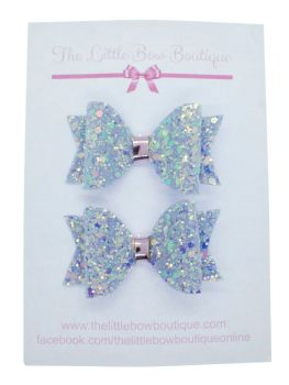Lilac sparkles  – Small Bows