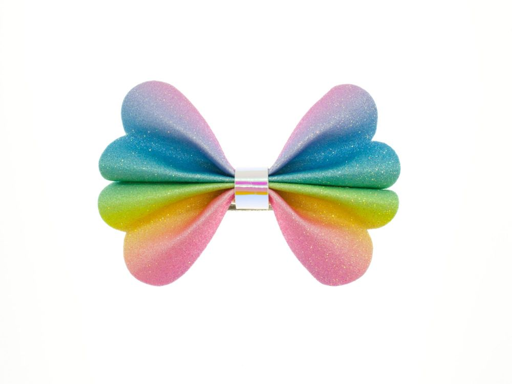 Butterfly New Shape Bow – Rainbow Refresher