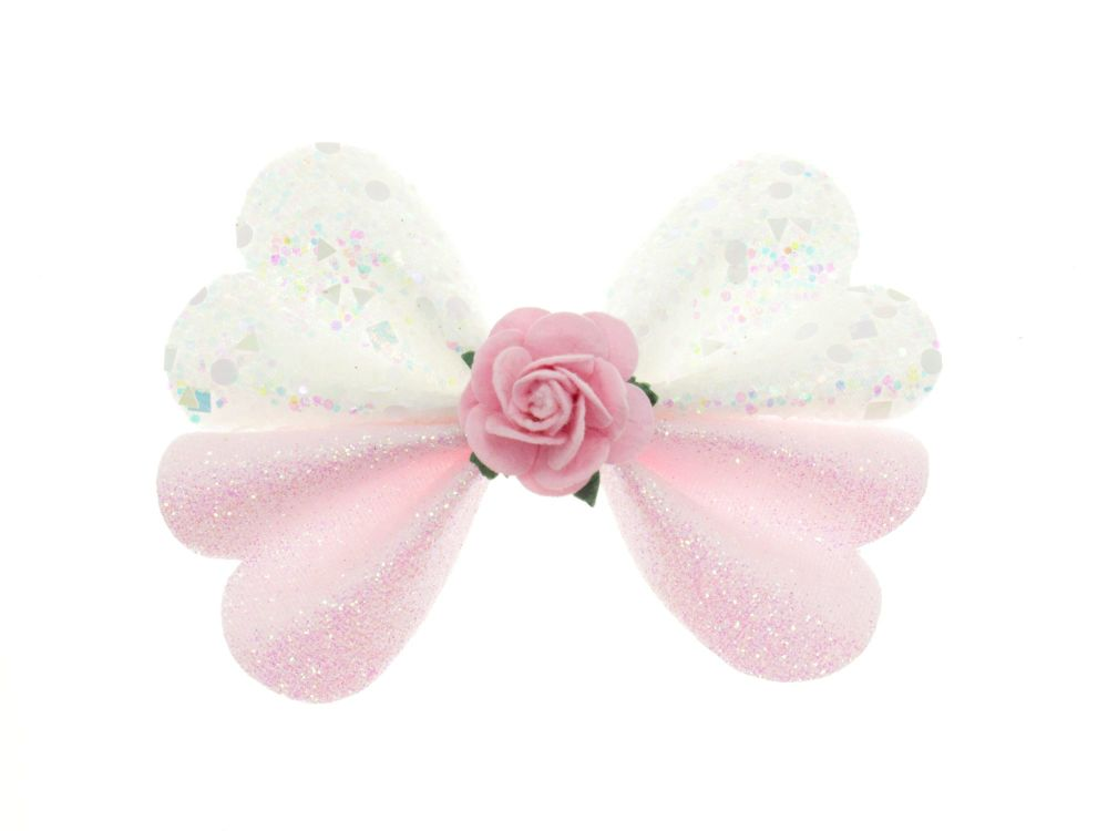 Butterfly New Shape Bow – Pretty Pink