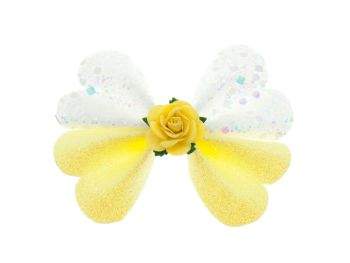 Butterfly New Shape Bow – Mellow Yellow