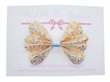 Butterfly New Shape Bow – Sparkling Sands