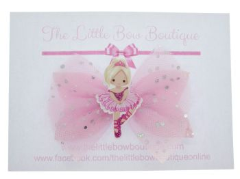 Ballerina Beauty Bow – Light Pink Blonde
