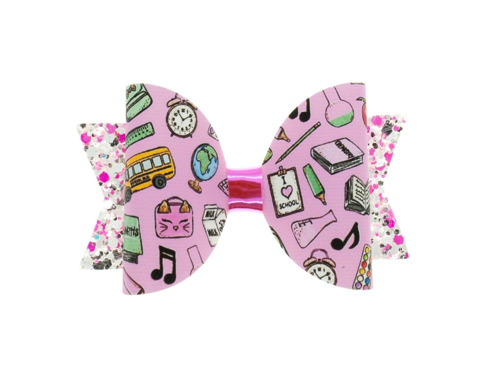 Girly School Stuff  – Regular Size Bow