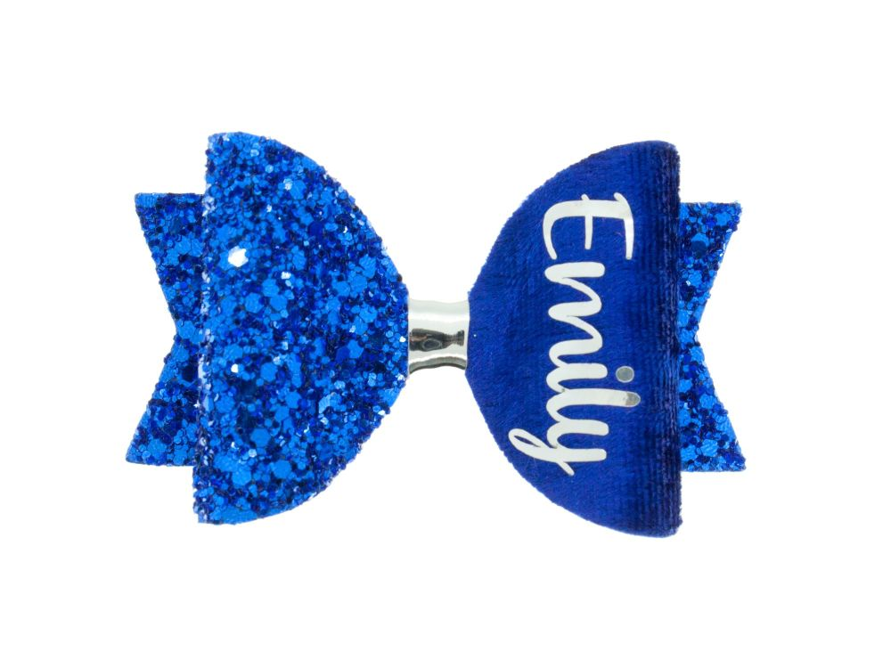 Colours for School – Royal Blue – Name Bow