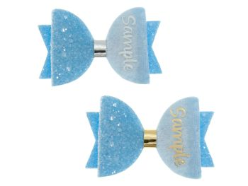 Colours for School – Light Blue – Name Bow