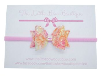 Autumn Sparkles Bow Headband