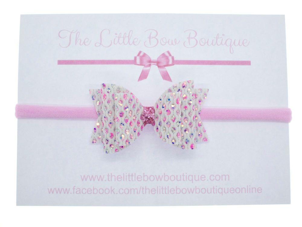 Dazzling Jewels Bow Headband
