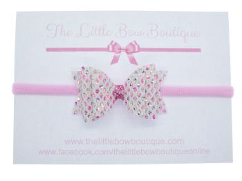 Dazzling Jewels Bow Headband
