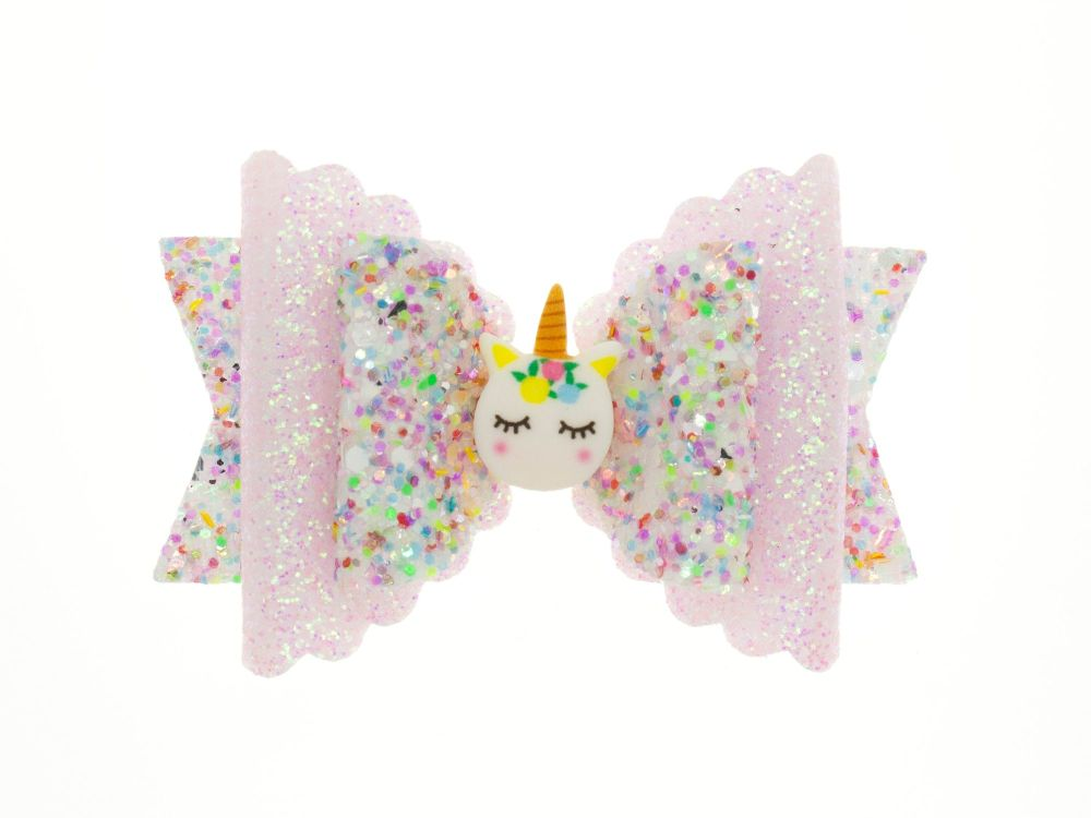 Dreamy Unicorn Regular Size Bow