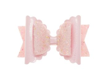 Cotton Candy Pink Regular Size Bow