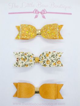 Beautiful Mustard Set of 3