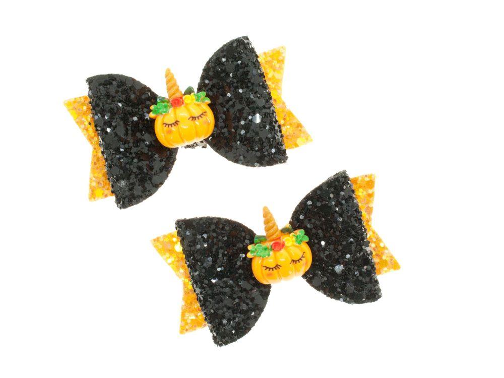 Pumpkinicorn Small Bows