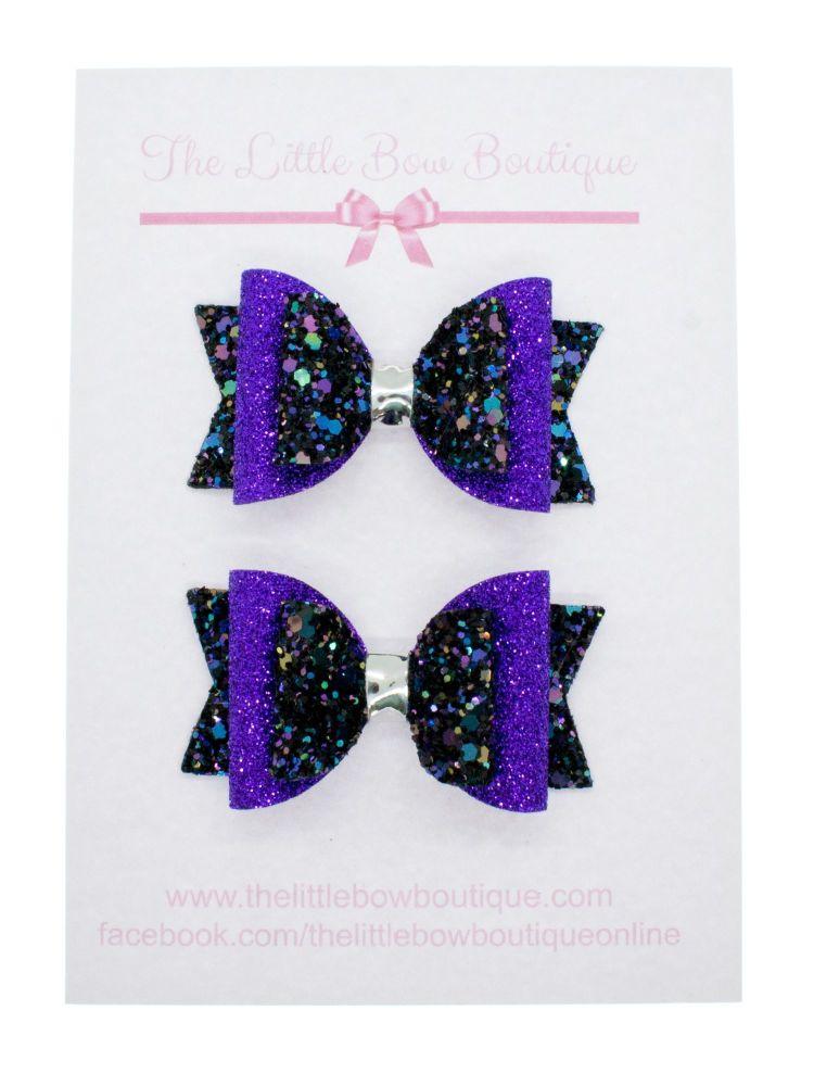 Hocus Pocus Glitter Small Bows
