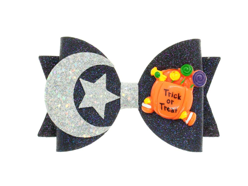 Halloween Night Bow