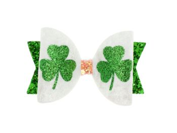 Emerald Sparkles – St Patrick's Day Bow