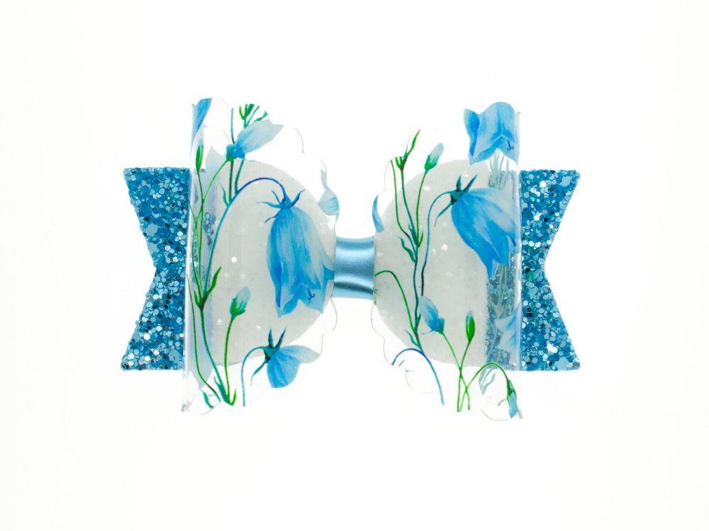 Bluebell Beauty – Regular Size Bow
