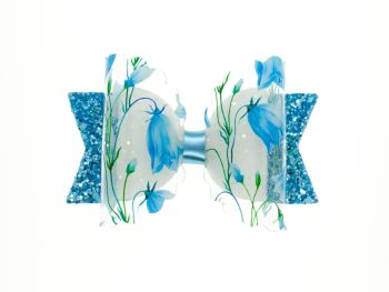 Bluebell Beauty – Regular Size Bow