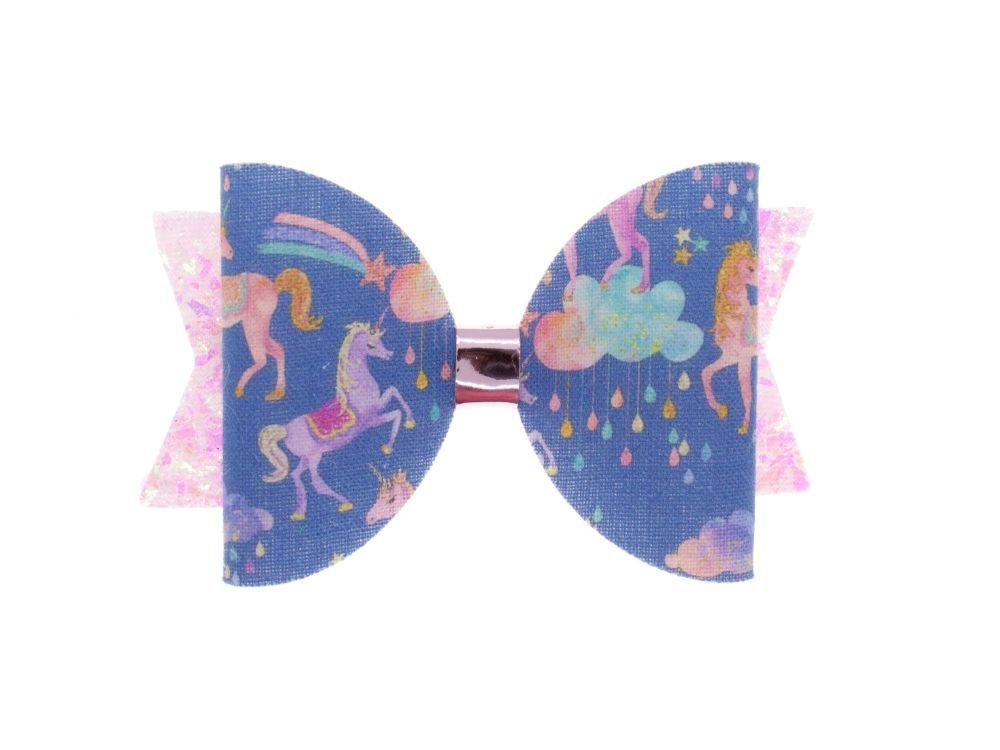Fantasy Unicorns – Regular Size Bow