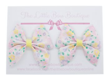 Blooming Beautiful New Shape Bow - Set of 2 x Bows