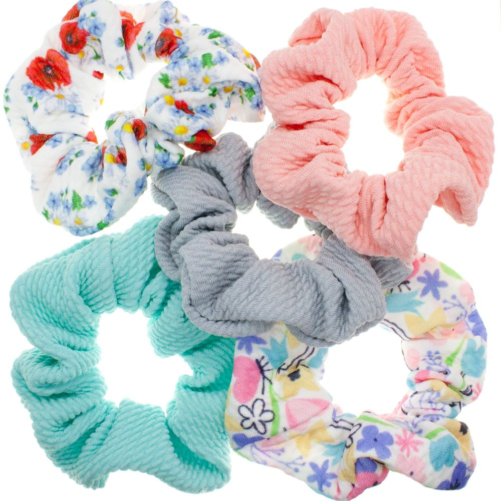 Scrunchies – Choice of 5