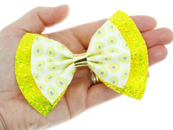 Mellow Yellow – New 4 inch Bow