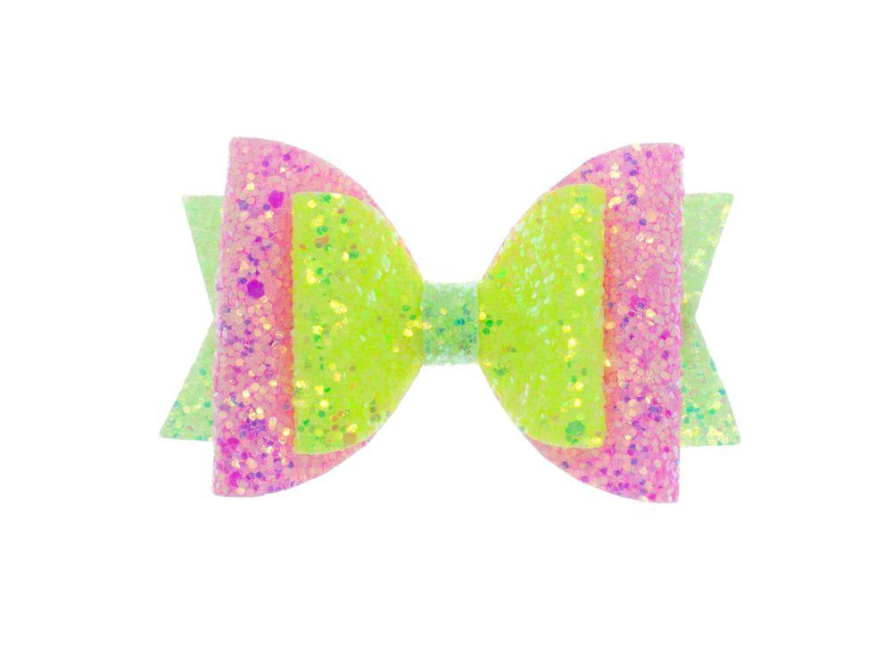 Neon Disco – Regular Size Bow
