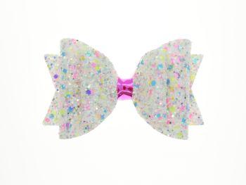 Confetti Burst Pearl – Regular Size Bow