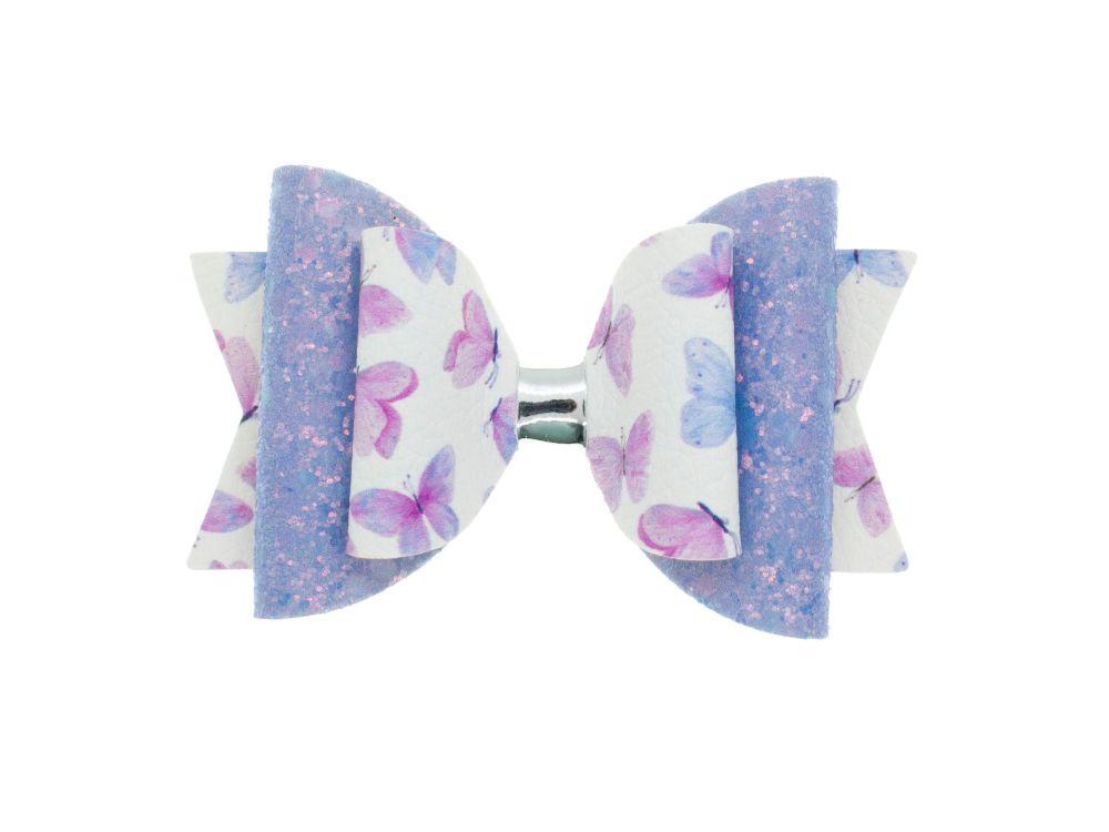 Beautiful Lilac Butterflies Regular Bow